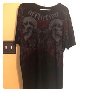 Men's Affliction Tee 2XL